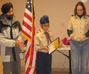 American Sikh Scouts receive the first Sikh Religious Awards approved by BSA – July 2014.